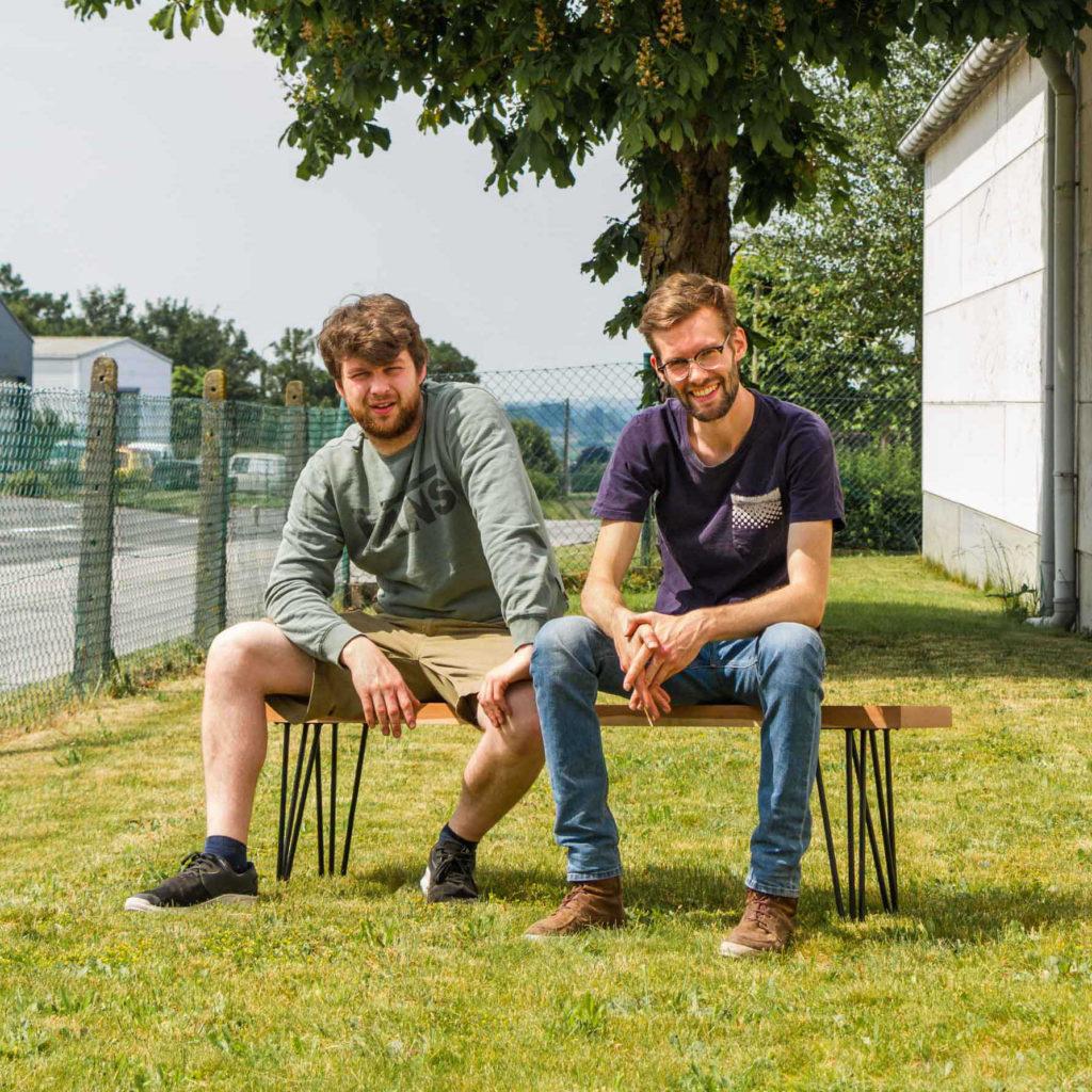 Rooftoptravel team Michael Lievens en Thomas Depreitere