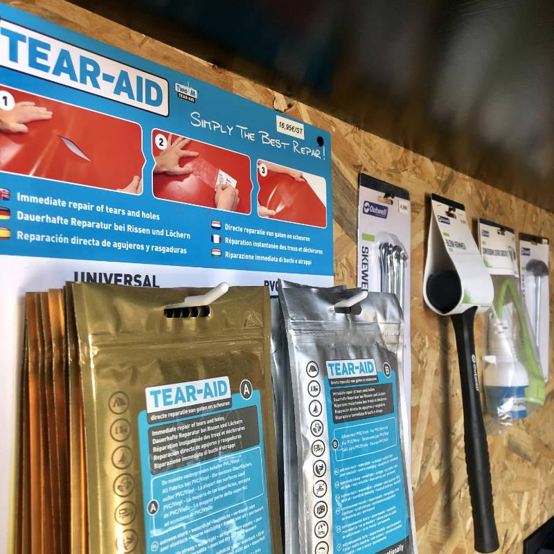 Daktentreizen Tear-Aid Outwell