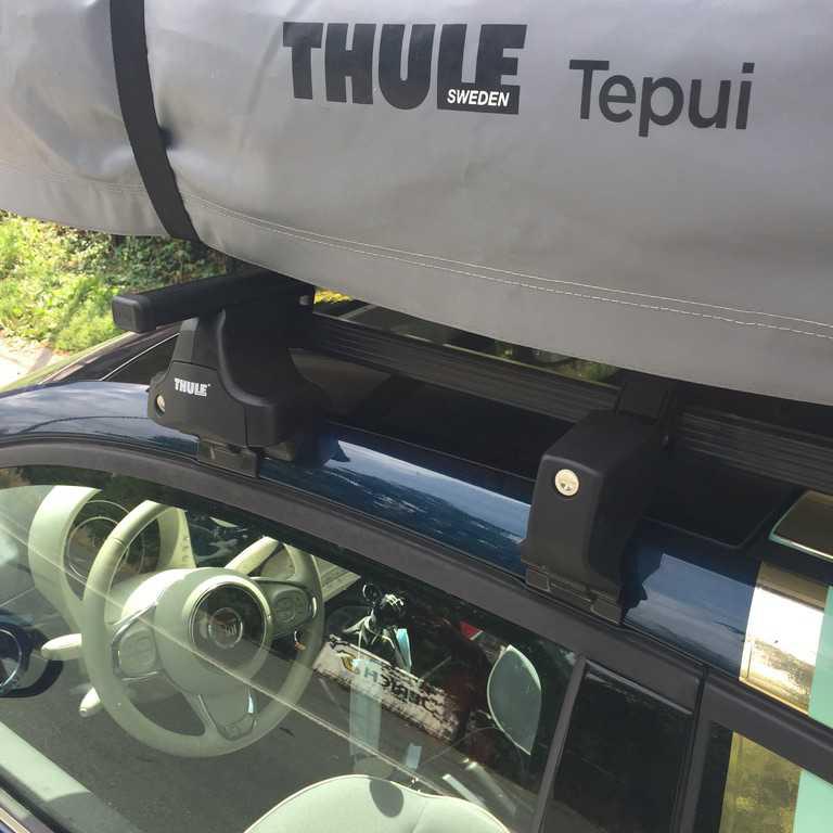 HAUS Fiat 500 Thule Explorer Ayer 2 daktent