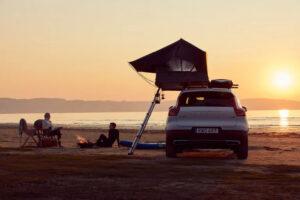 Thule Foothill daktent kamperen strand surfen