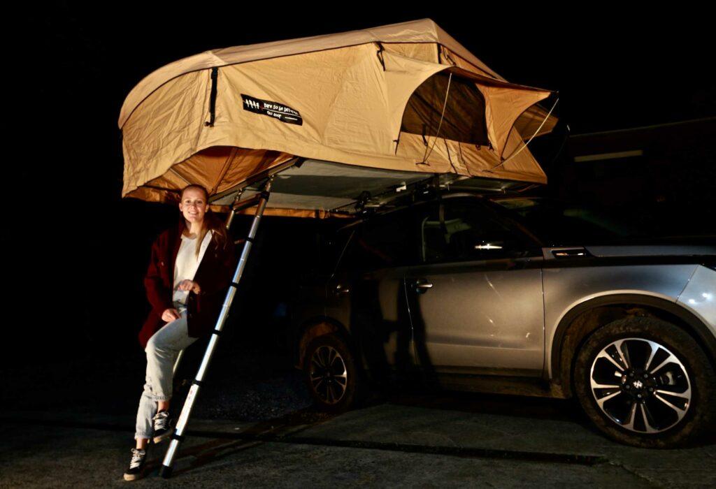 Dare To Be Different 140L daktent Suzuki Vitara Jill Boon