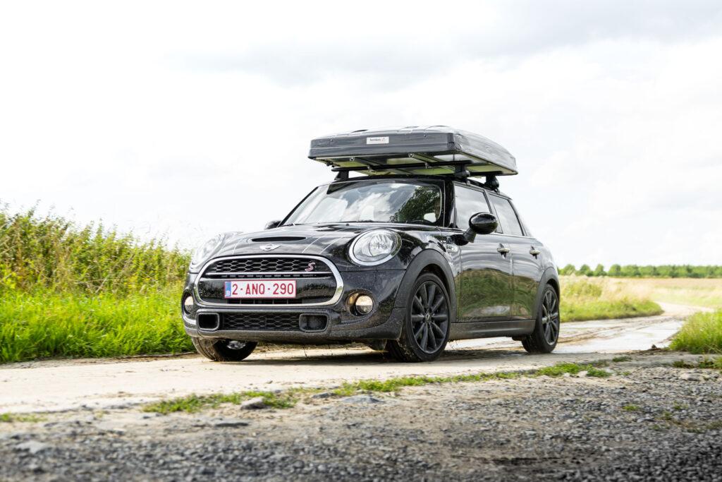 Mini Cooper S camper daktent